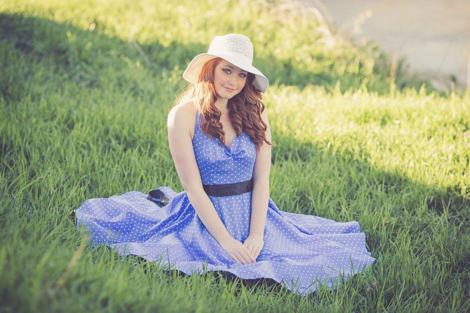 letnia sukienka na ciepłe dni