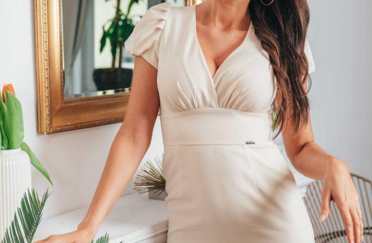 zwiewne sukienki na wesele